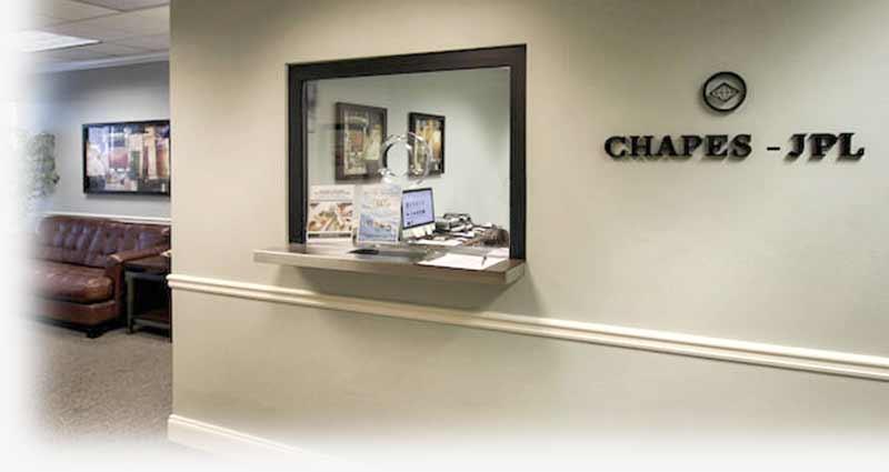 experience Chapes-JPL lobby